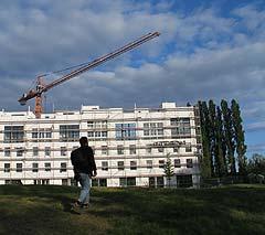 Neubau in der Rummerlsburger Bucht