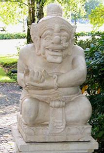Baligartenstatue