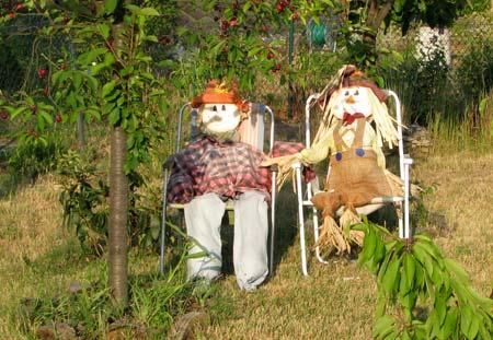 witzige Gartenbewohner