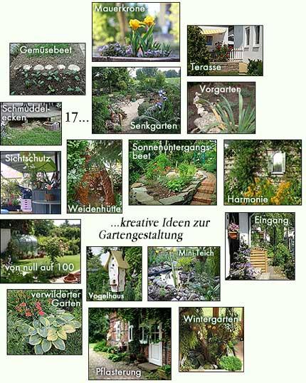 17 Ideen zur kreativen Gartengestaltung
