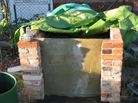 alter Kompost