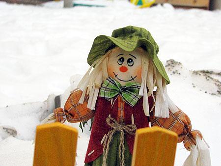 Schneepuppe