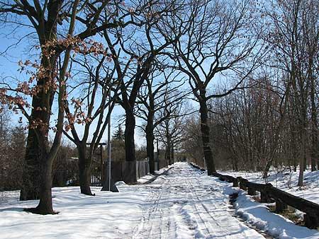 Hegemeister Weg - derzeit verschneit und gesperrt