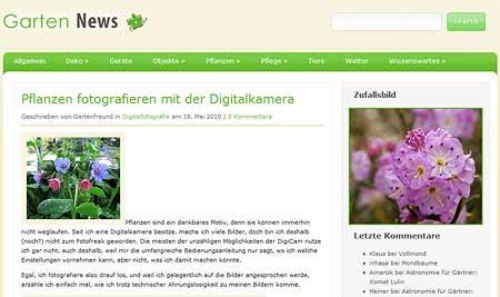 geklauter Text auf Garten-news.net