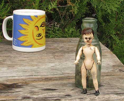Fundsache: Puppe