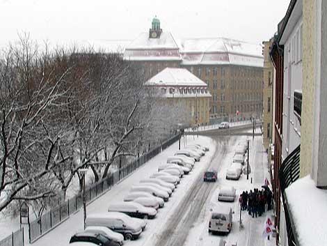 Winter am Rudolfplatz