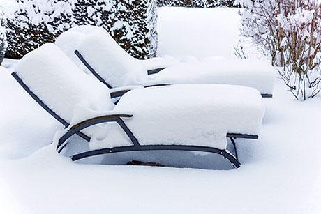 gartenm bel winterfest machen. Black Bedroom Furniture Sets. Home Design Ideas