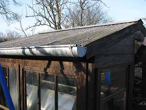 Dachmaterial Gewächshaus