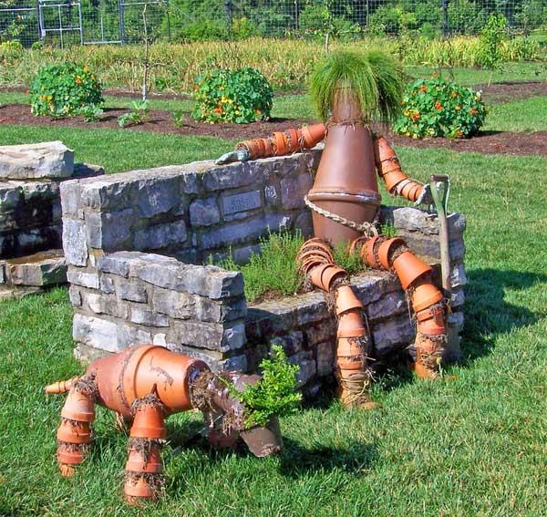 Topfmann - Gartenkunst