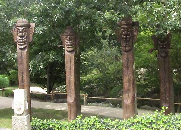 Gartenskulpturen IGA
