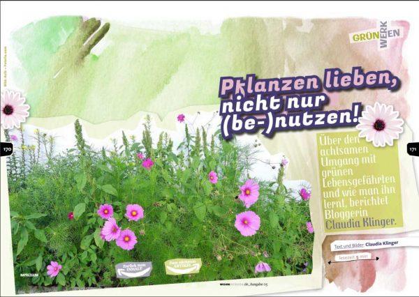 Pflanzen lieben